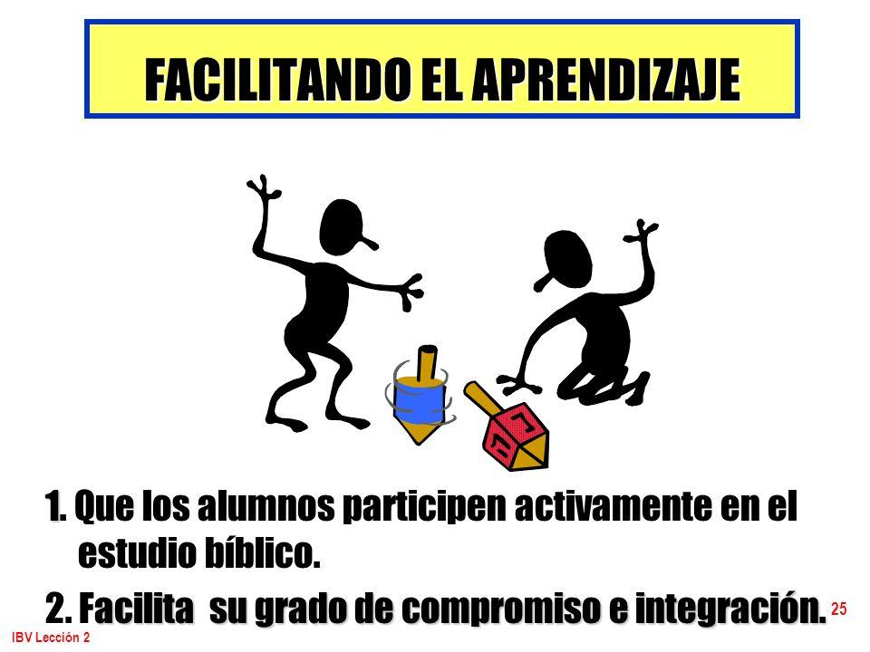 FACILITANDO EL APRENDIZAJE