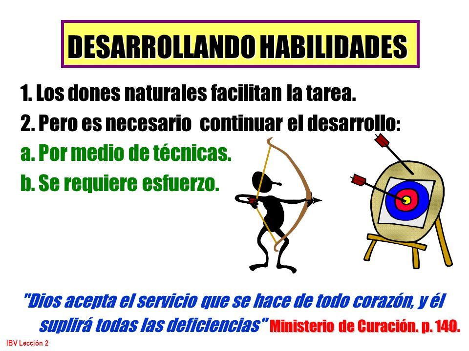 DESARROLLANDO HABILIDADES