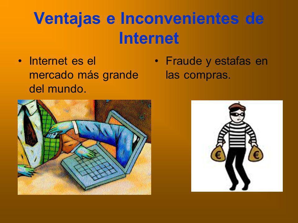 Ventajas e Inconvenientes de Internet