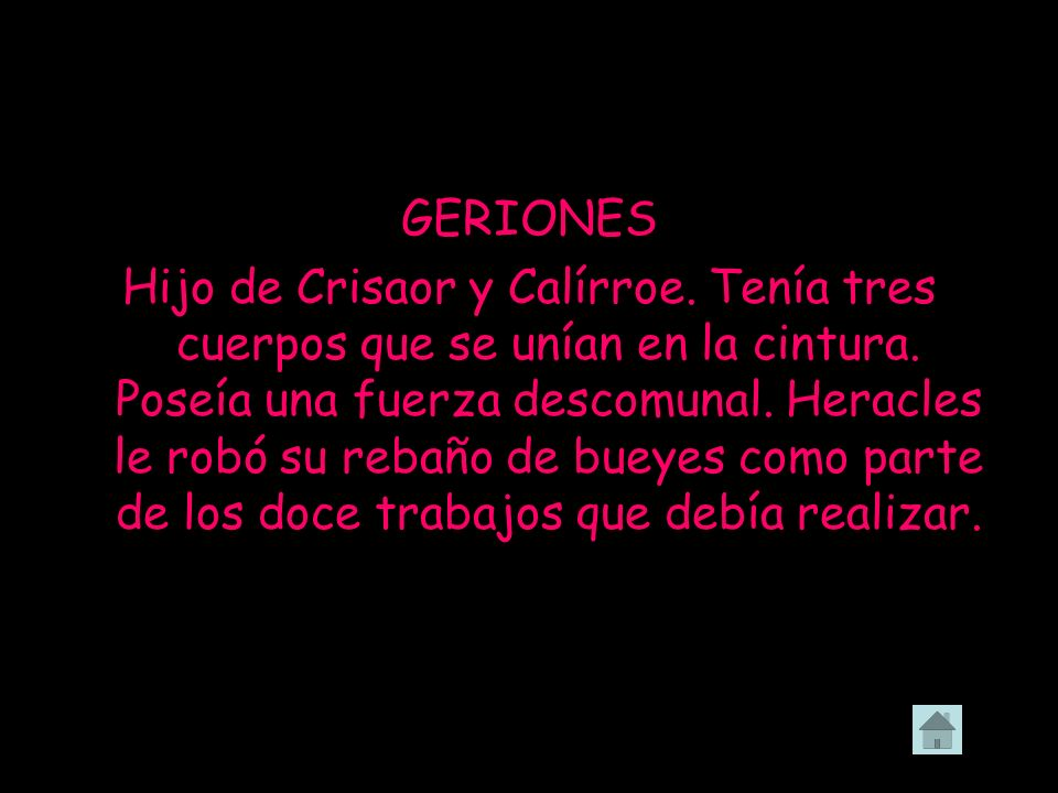 GERIONES