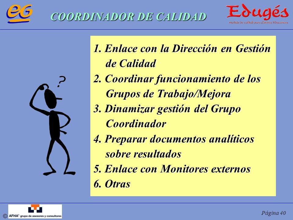 COORDINADOR DE CALIDAD