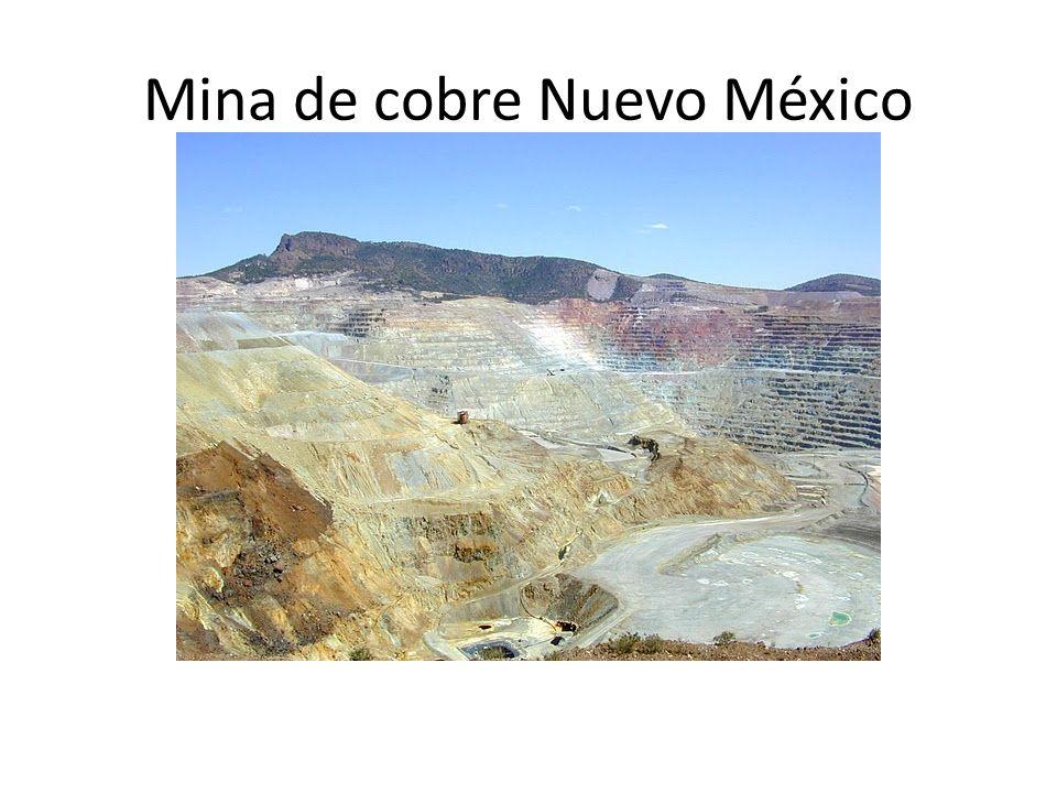 Mina de cobre Nuevo México