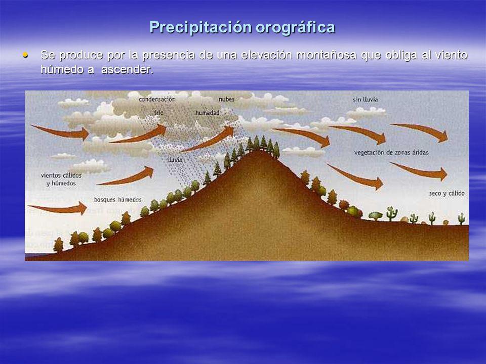 Precipitación orográfica