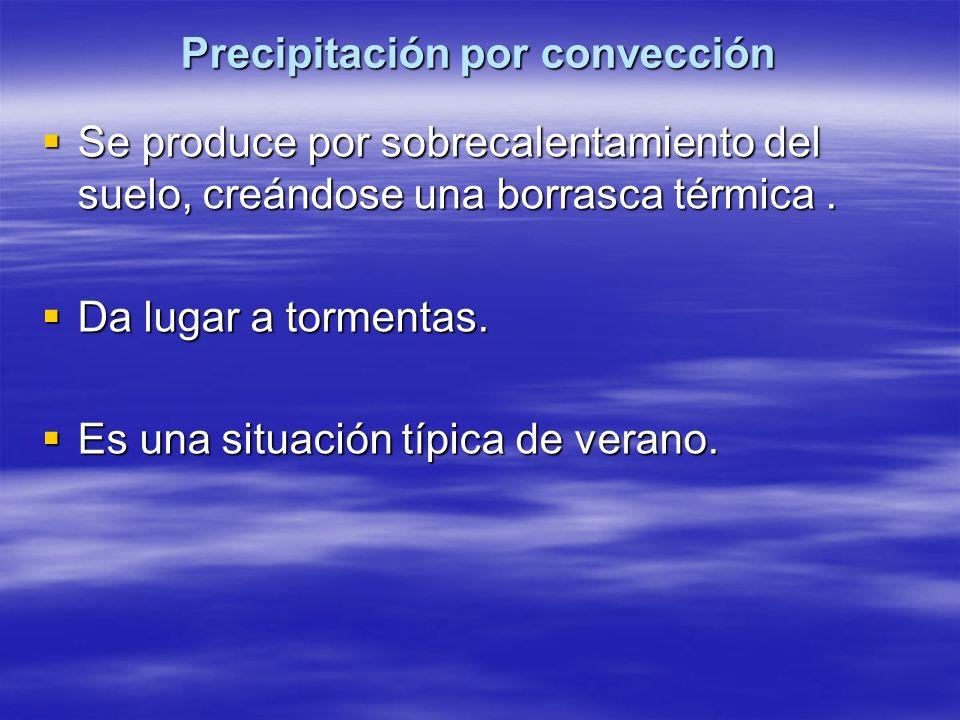 Precipitación por convección