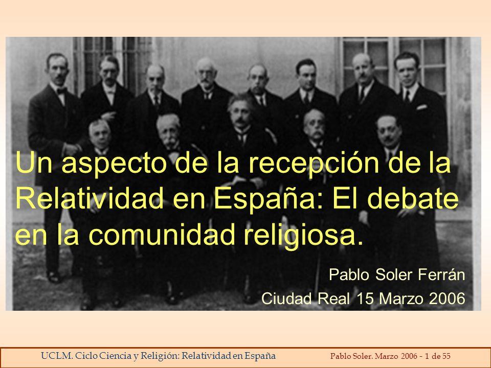 Pablo Soler Ferrán Ciudad Real 15 Marzo 2006