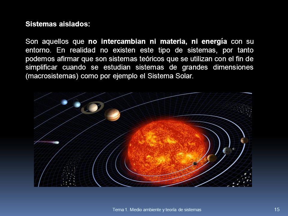 Sistemas aislados: