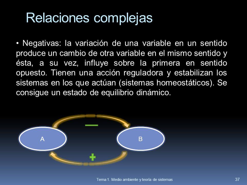 Relaciones complejas