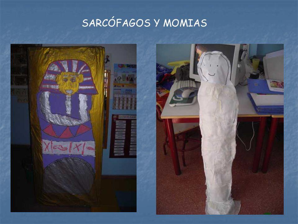 SARCÓFAGOS Y MOMIAS