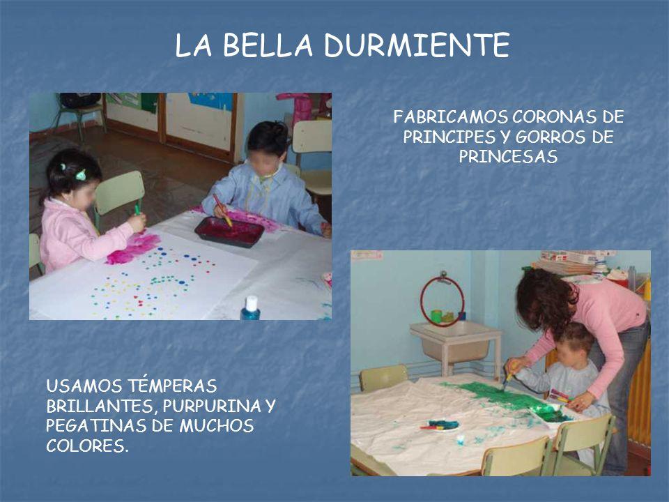FABRICAMOS CORONAS DE PRINCIPES Y GORROS DE PRINCESAS