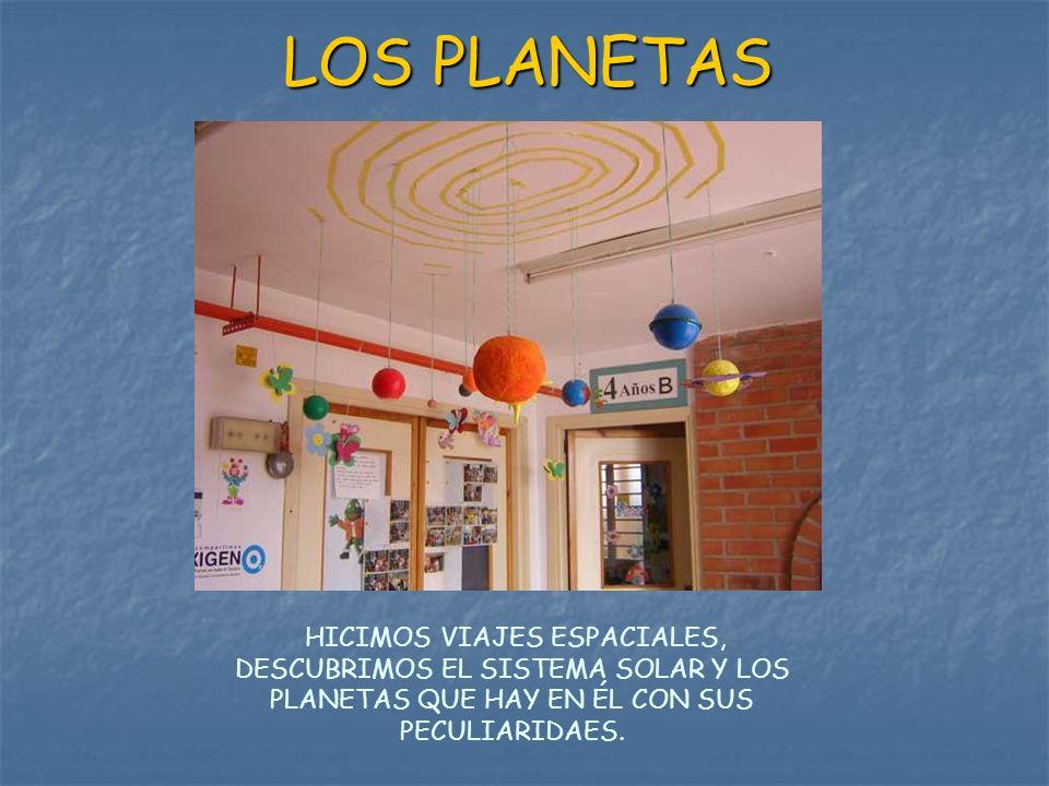 LOS PLANETAS HICIMOS VIAJES ESPACIALES, DESCUBRIMOS EL SISTEMA SOLAR Y LOS PLANETAS QUE HAY EN ÉL CON SUS PECULIARIDAES.