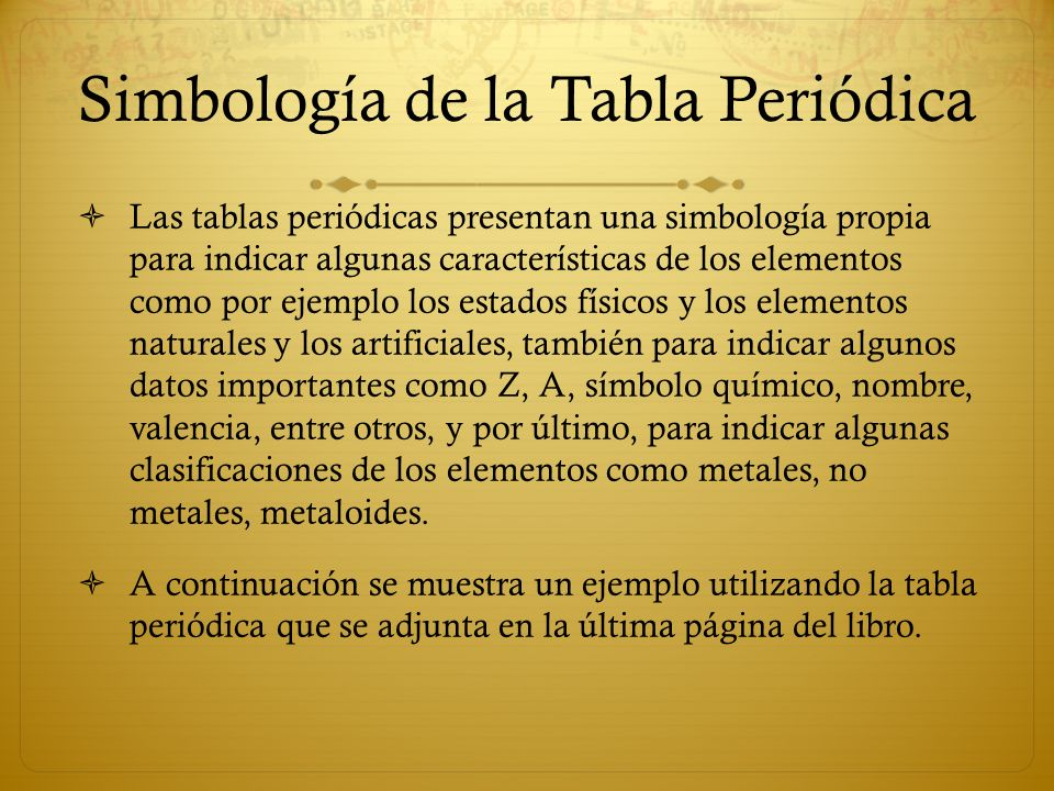 La tabla peridica ppt video online descargar simbologa de la tabla peridica urtaz