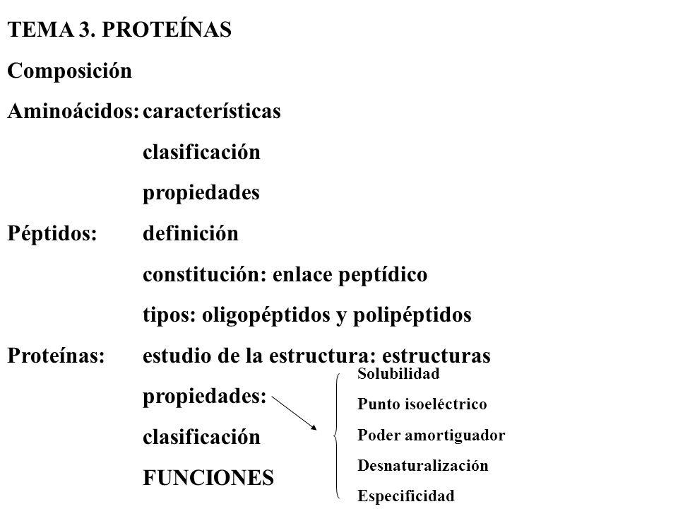 Aminoácidos: características clasificación propiedades