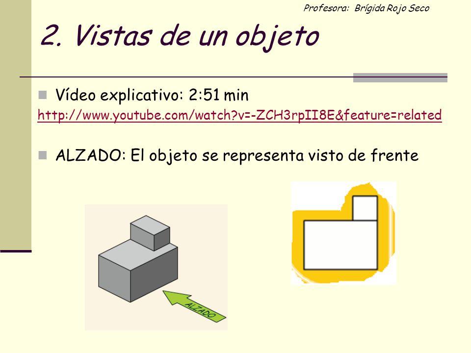 2. Vistas de un objeto Vídeo explicativo: 2:51 min