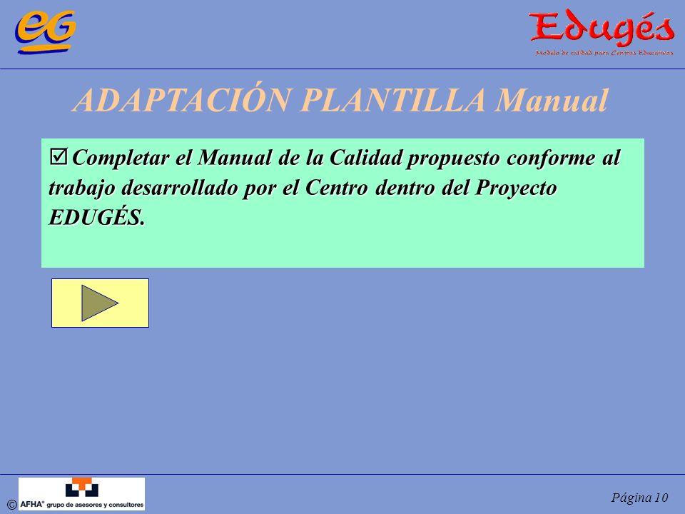 ADAPTACIÓN PLANTILLA Manual