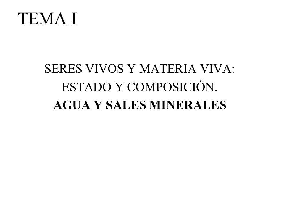 SERES VIVOS Y MATERIA VIVA: