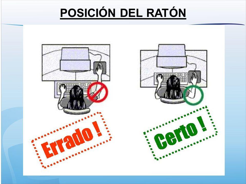 POSICIÓN DEL RATÓN