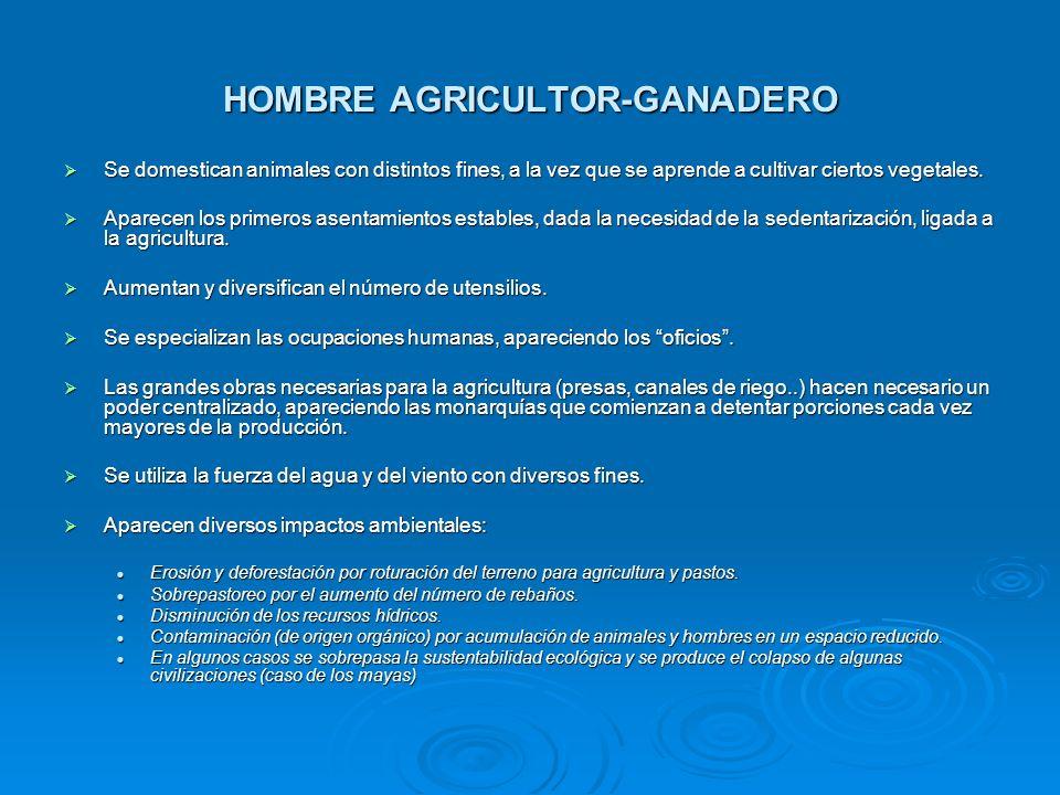 HOMBRE AGRICULTOR-GANADERO