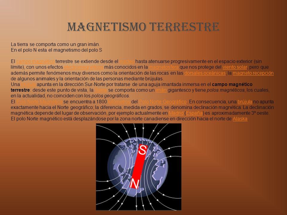 Magnetismo TERRESTRE