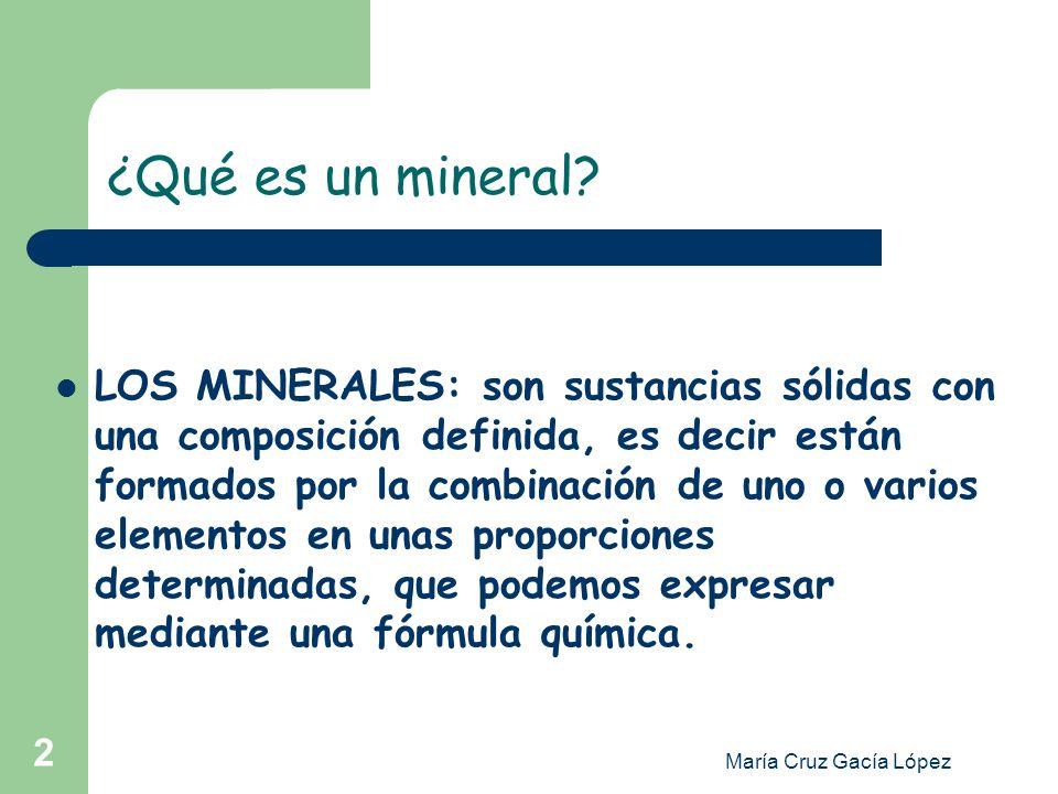 ¿Qué es un mineral