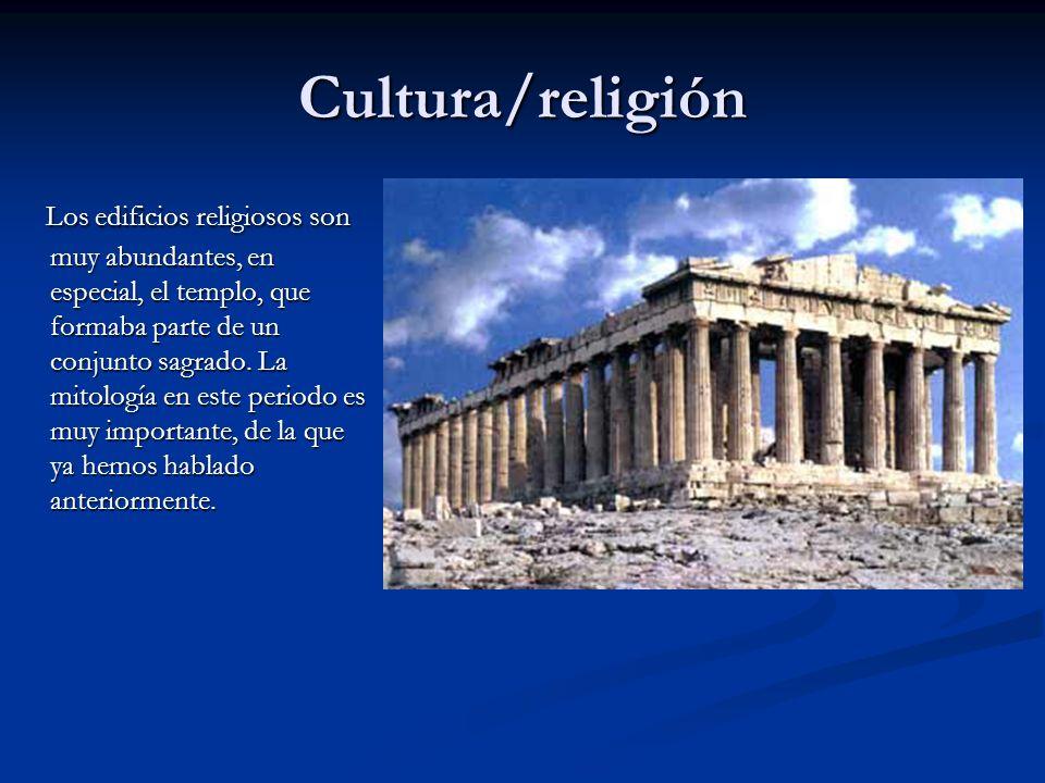 Cultura/religión
