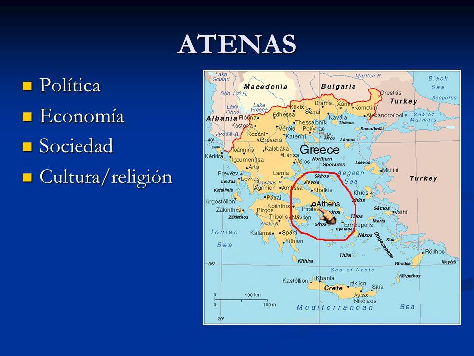 ATENAS Política Economía Sociedad Cultura/religión