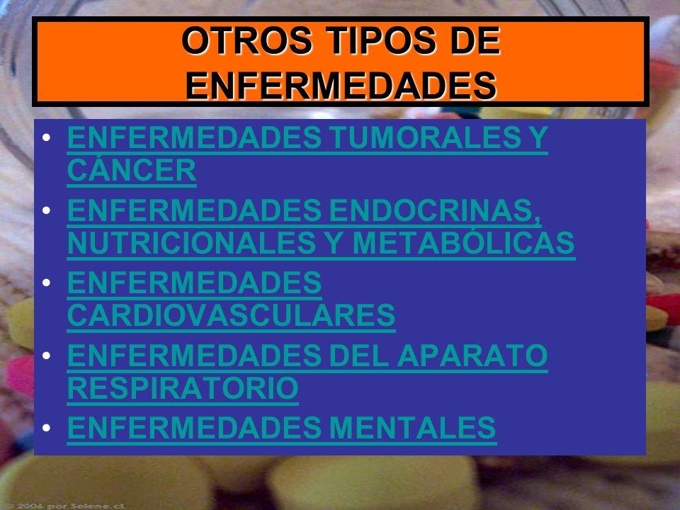 OTROS TIPOS DE ENFERMEDADES