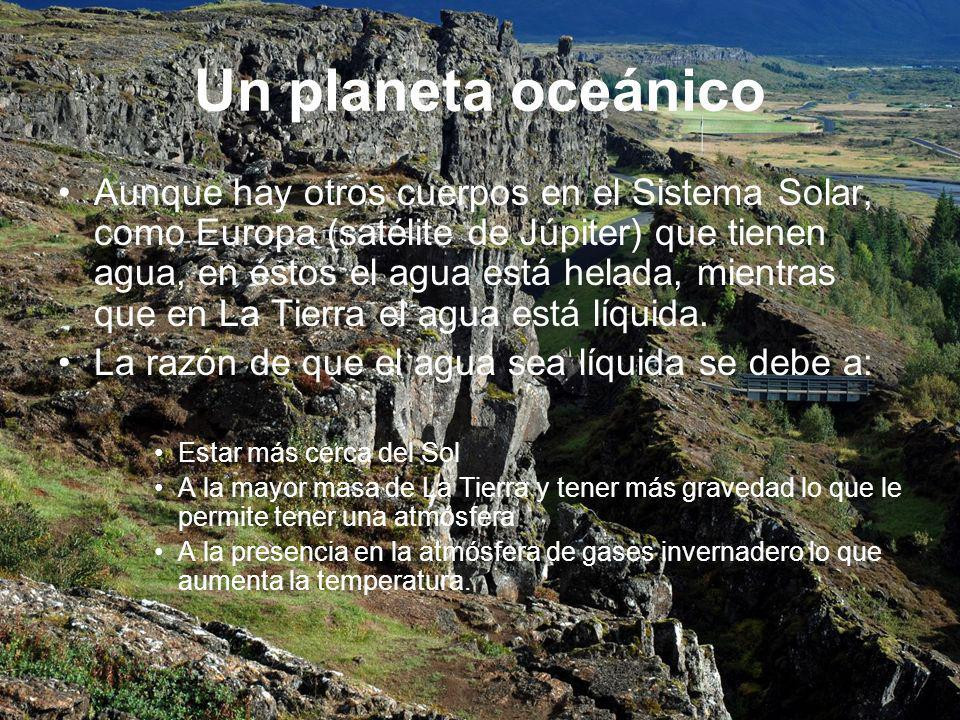 Un planeta oceánico