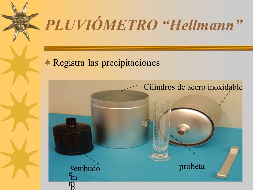 PLUVIÓMETRO Hellmann