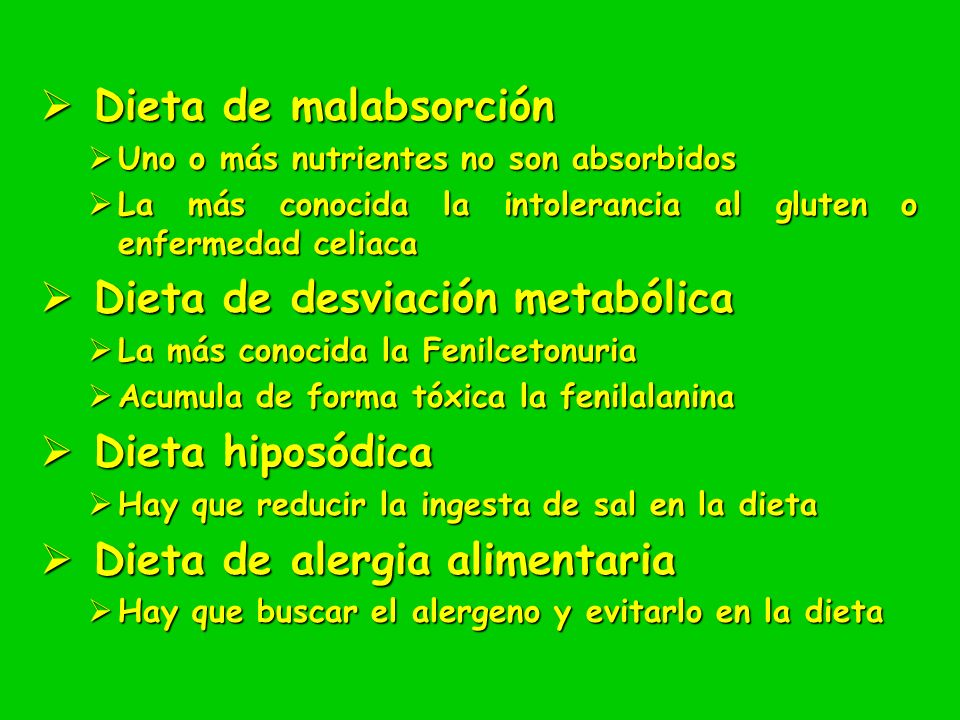 Dieta de desviación metabólica