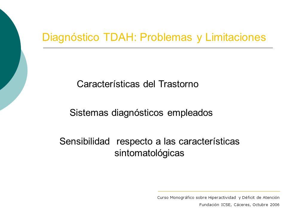 Diagnóstico TDAH: Problemas y Limitaciones