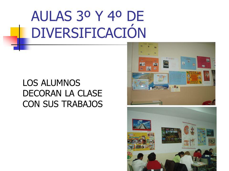 AULAS 3º Y 4º DE DIVERSIFICACIÓN