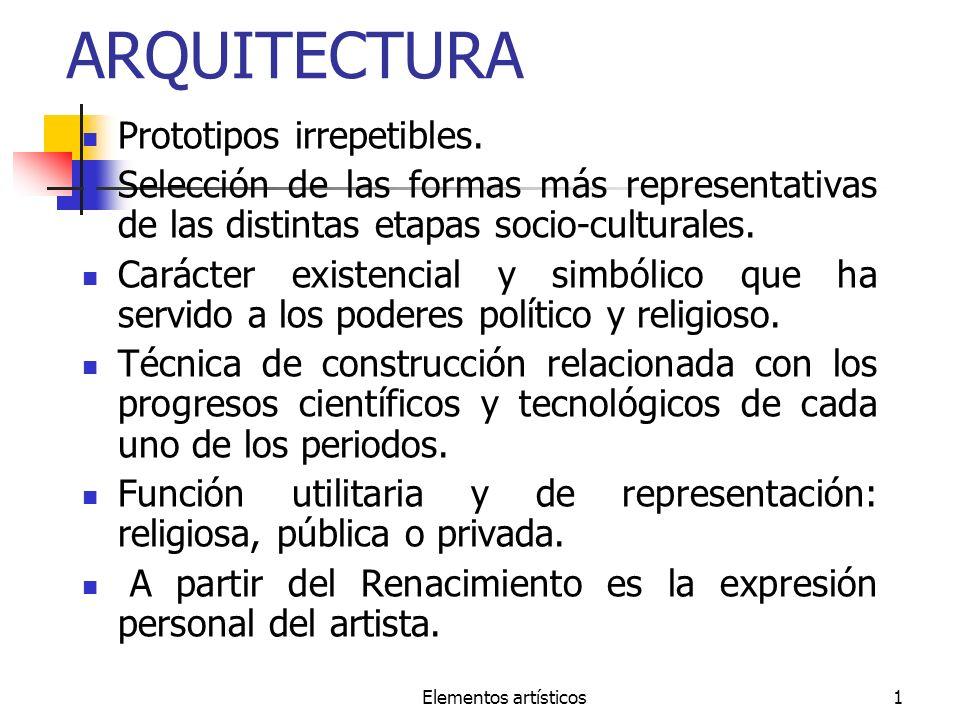 ARQUITECTURA Prototipos irrepetibles.