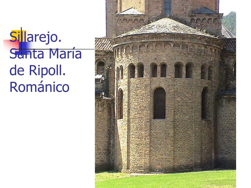 Sillarejo. Santa María de Ripoll. Románico