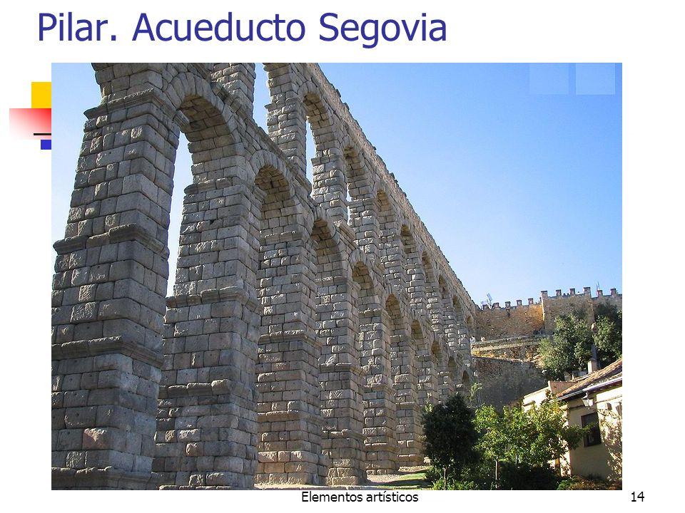 Pilar. Acueducto Segovia