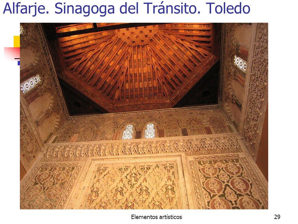 Alfarje. Sinagoga del Tránsito. Toledo
