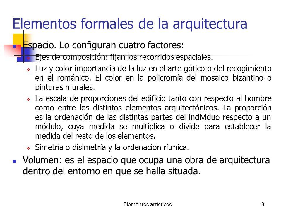 Elementos formales de la arquitectura
