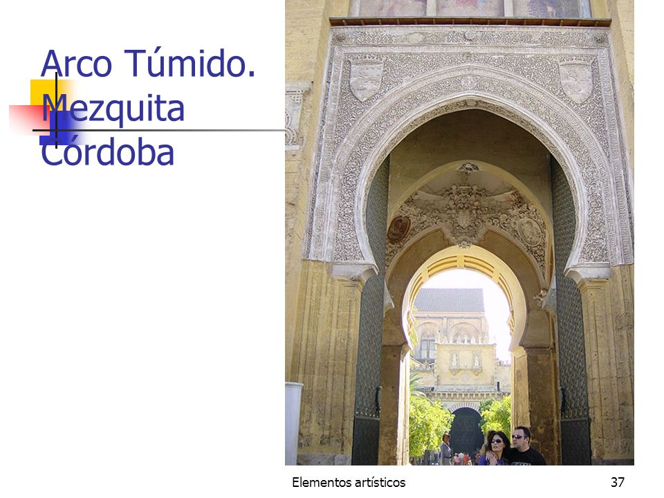 Arco Túmido. Mezquita Córdoba
