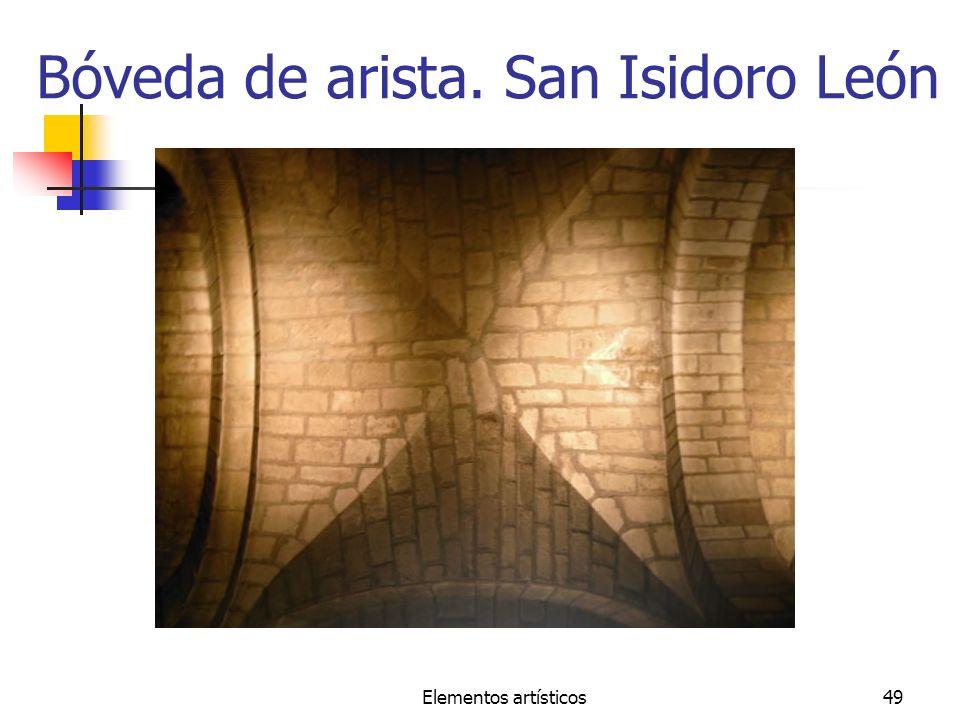 Bóveda de arista. San Isidoro León