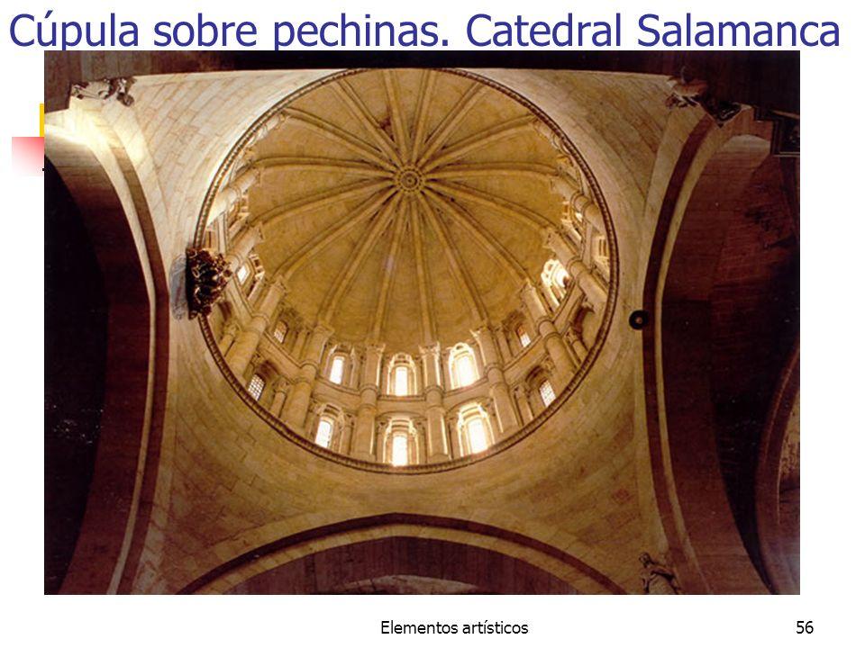 Cúpula sobre pechinas. Catedral Salamanca