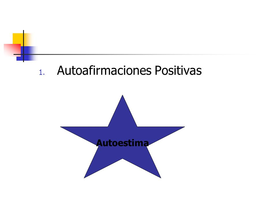 Autoafirmaciones Positivas
