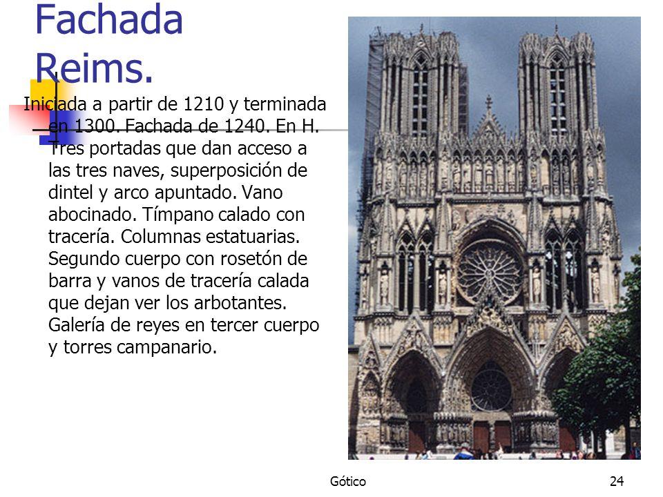 Fachada Reims.