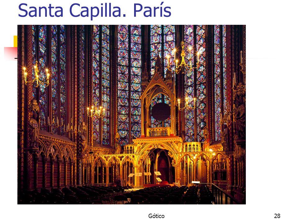 Santa Capilla. París Gótico