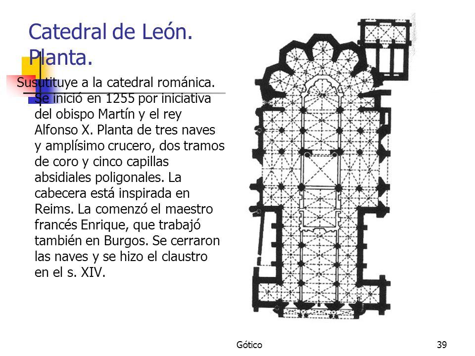 Catedral de León. Planta.
