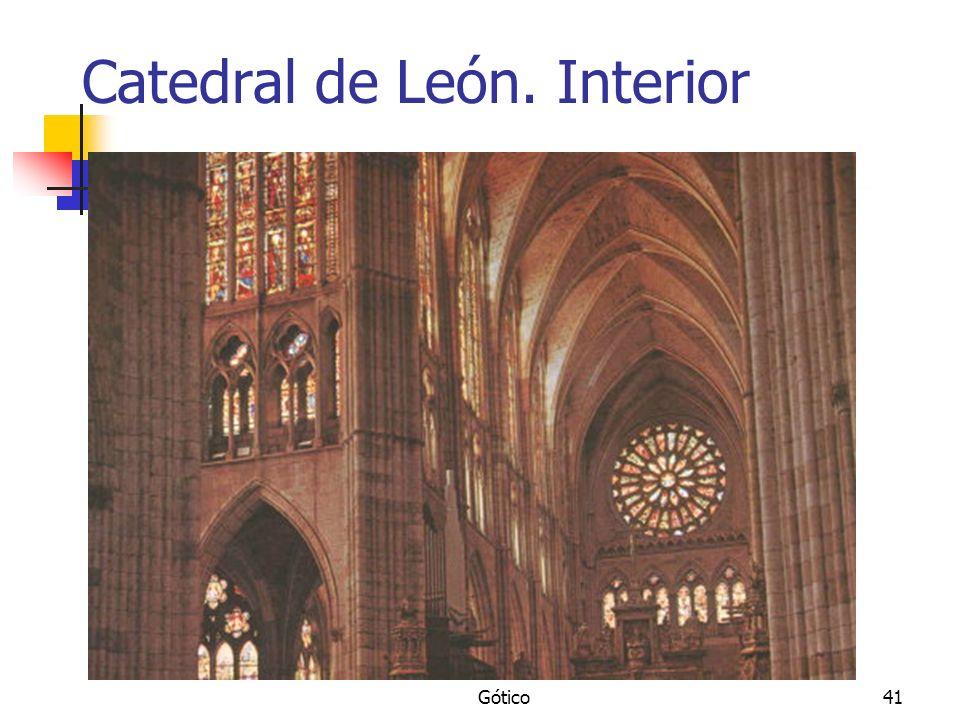 Catedral de León. Interior