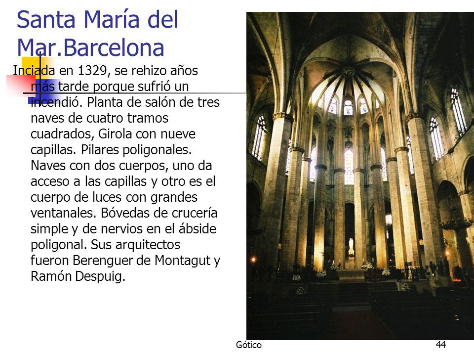 Santa María del Mar.Barcelona
