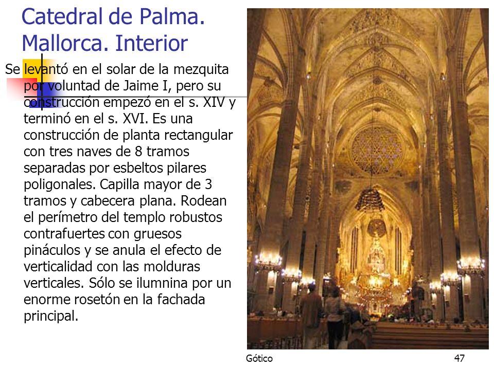 Catedral de Palma. Mallorca. Interior