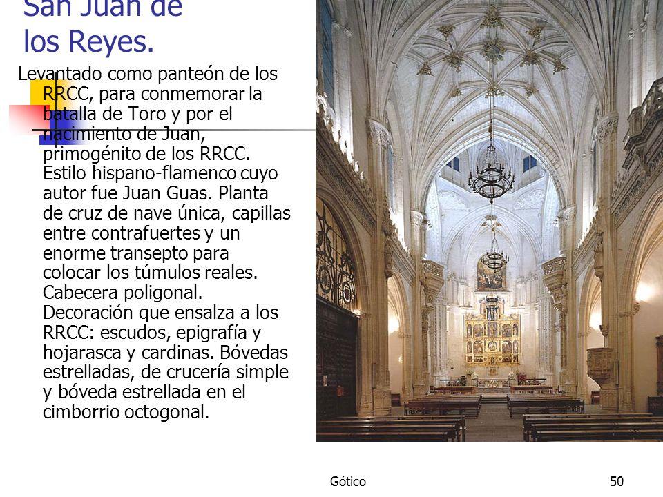 San Juan de los Reyes.