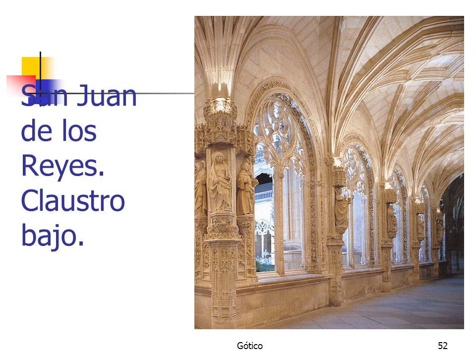 San Juan de los Reyes. Claustro bajo.