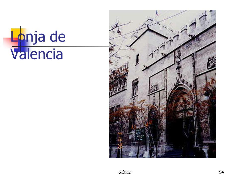Lonja de Valencia Gótico