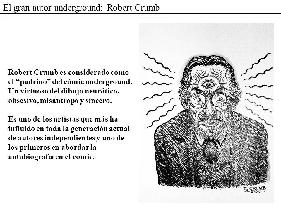 El gran autor underground: Robert Crumb